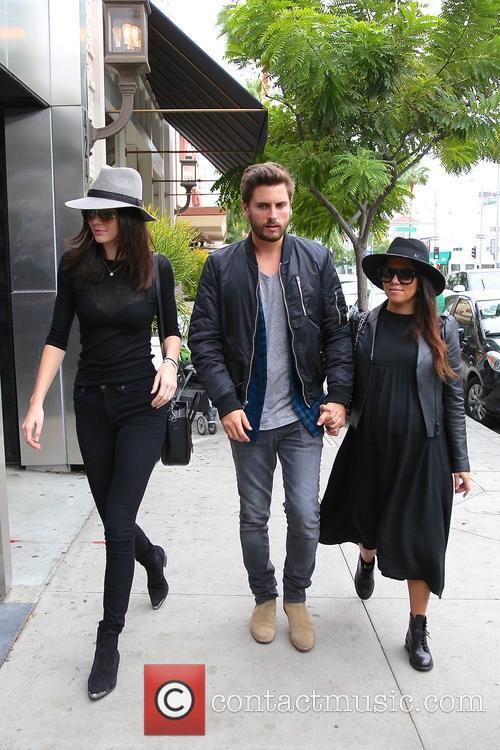 Kourtney Kardashian, Scott Disick and Kylie Jenner 10