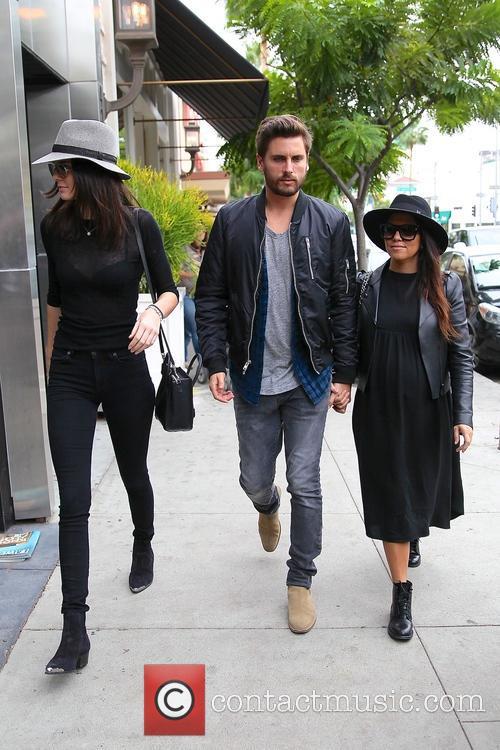 Kourtney Kardashian, Scott Disick and Kylie Jenner 11