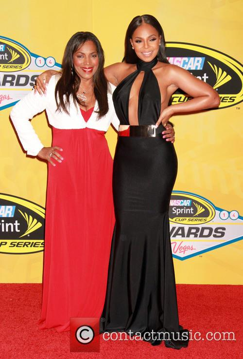 Ashanti and Tina Douglas