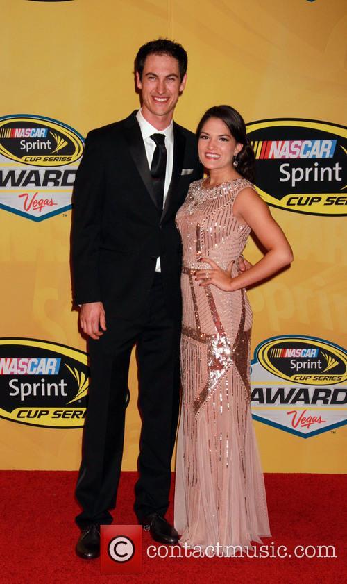 Joey Logano and Brittany Baca 2