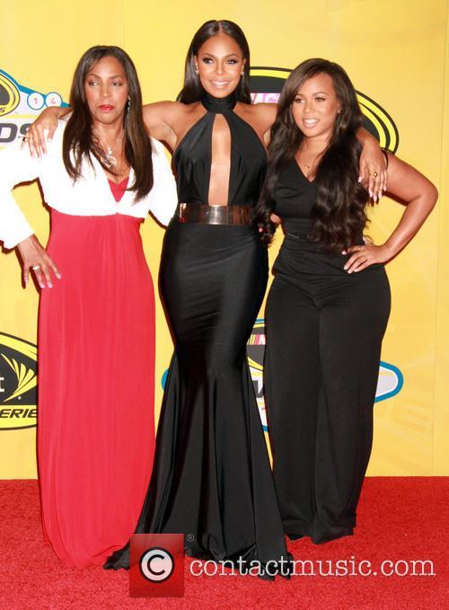 Tina Douglas, Ashanti and Shia Douglas 5