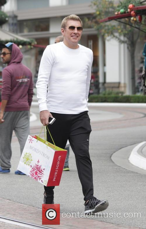 'Chrisley Knows Best' star Todd Chrisley goes shopping...