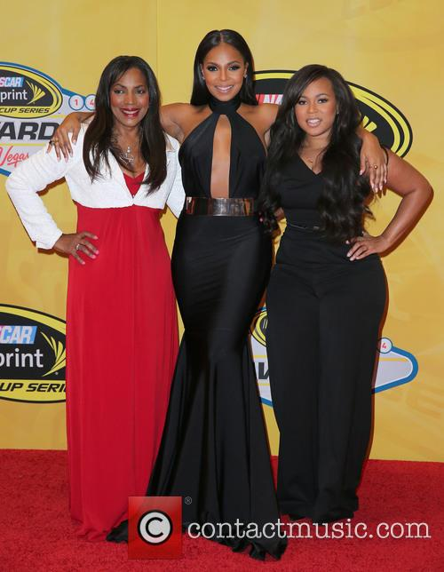 Tina Douglas, Ashanti and Shia Douglas 3