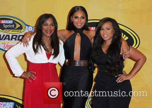 Tina Douglas, Ashanti and Shia Douglas 1