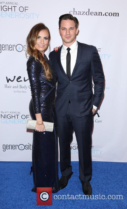 Angela Stacy Lanter and Matt Lanter 2