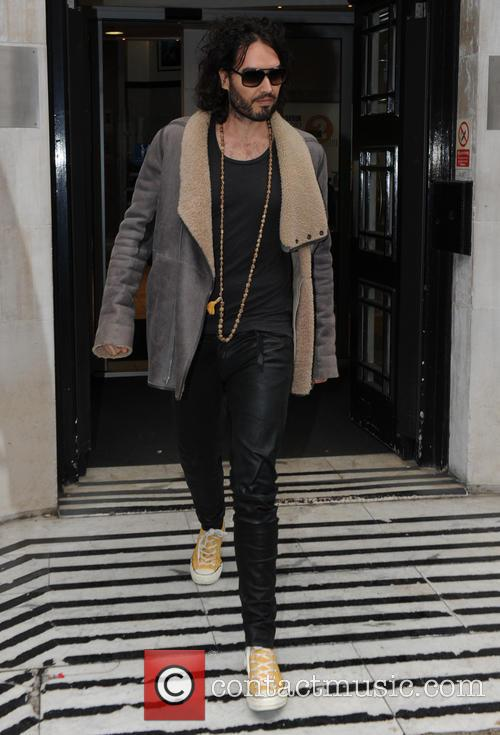 Russell Brand at BBC Radio 2