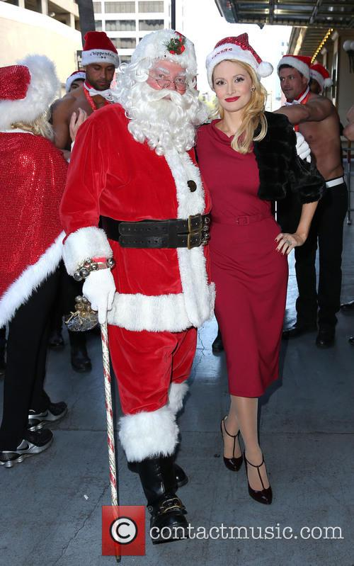 Santa and Holly Madison 5