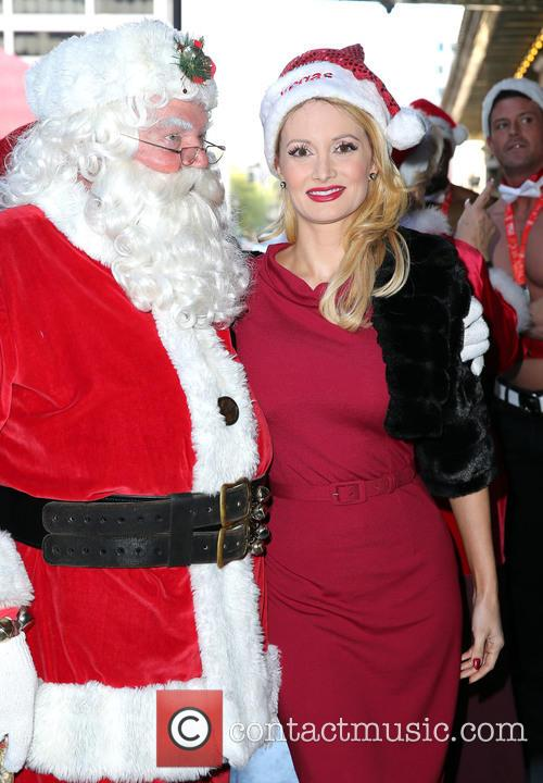 Santa and Holly Madison 7