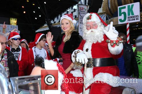 Santa and Holly Madison 11