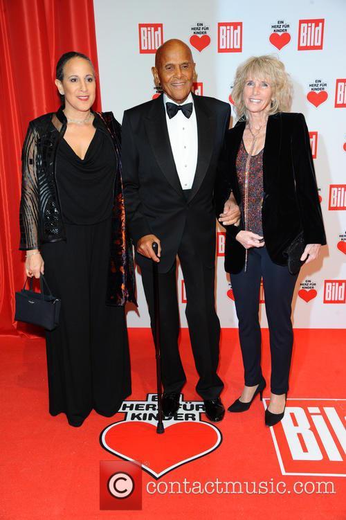 Gina Belafonte, Harry Belafonte and Pamela Frank 3