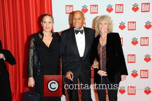 Gina Belafonte, Harry Belafonte and Pamela Frank 4