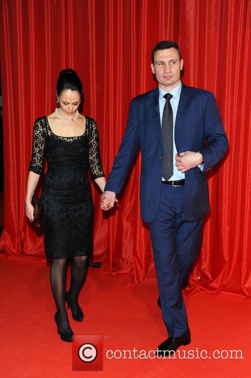 Natalia Klitschko and Vitali Klitschko