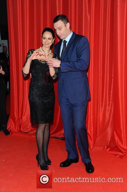 Natalia Klitschko and Vitali Klitschko 2