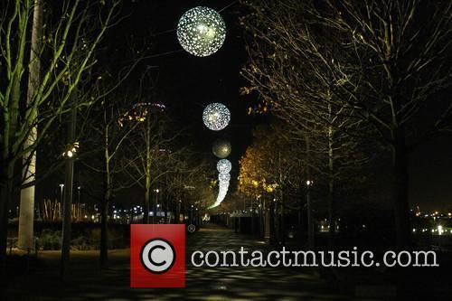 Olympic Christmas tree in Queen Elizabeth Park