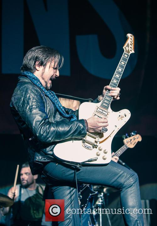 Rival Sons support Lenny Kravitz at Wembley Arena