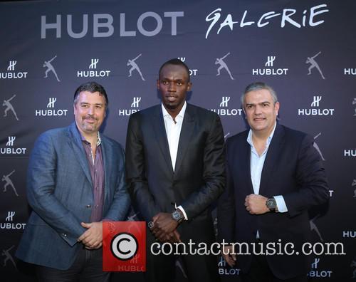 Rick Delacroix, Usain Bolt and Ricardo Guadalupe 4