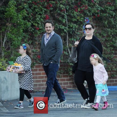 Melissa Mccarthy, Ben Falcone, Vivian Falcone and Georgette Falcone 2