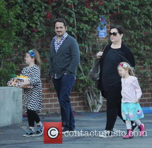 Melissa Mccarthy, Ben Falcone, Vivian Falcone and Georgette Falcone 3