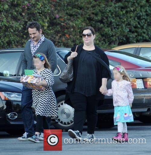 Melissa Mccarthy, Ben Falcone, Vivian Falcone and Georgette Falcone 6
