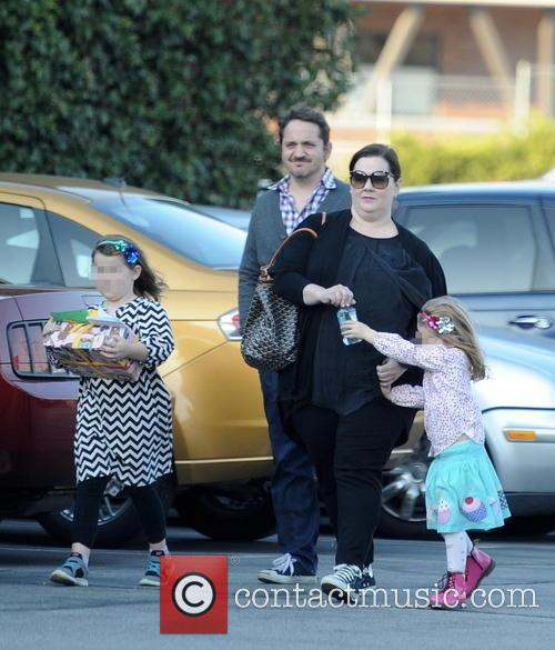 Melissa Mccarthy, Ben Falcone, Vivian Falcone and Georgette Falcone 7