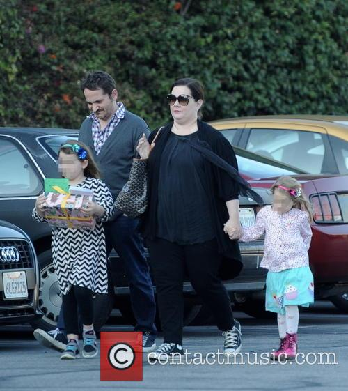 Melissa Mccarthy, Ben Falcone, Vivian Falcone and Georgette Falcone 10
