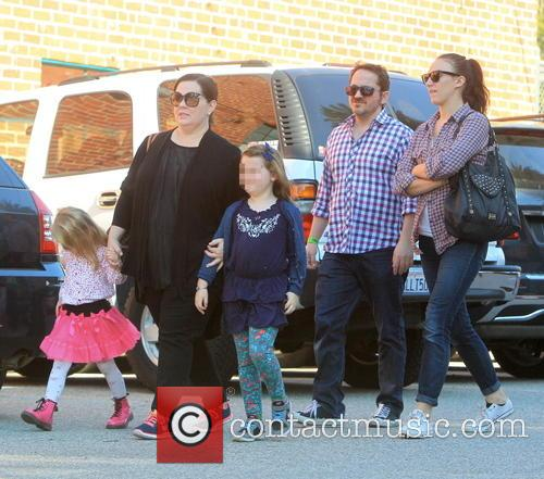 Melissa Mccarthy, Ben Falcone, Vivian Falcone and Georgette Falcone 11