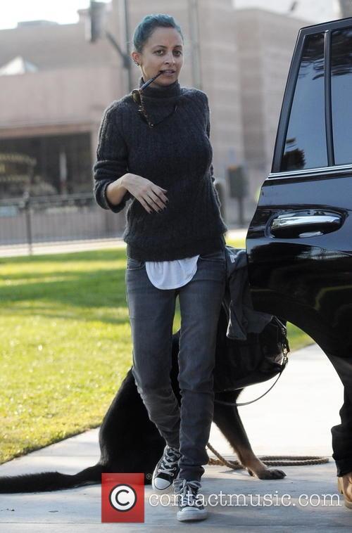 Nicole Richie and Joel Madden take their children...