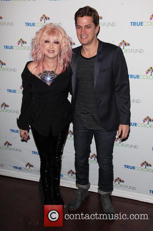 Cyndi Lauper and Rob Thomas 6