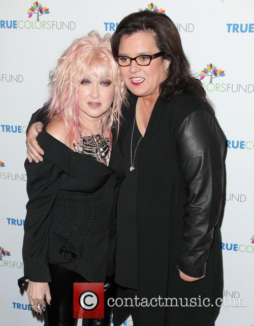 Cyndi Lauper and Rosie O'donnell 1