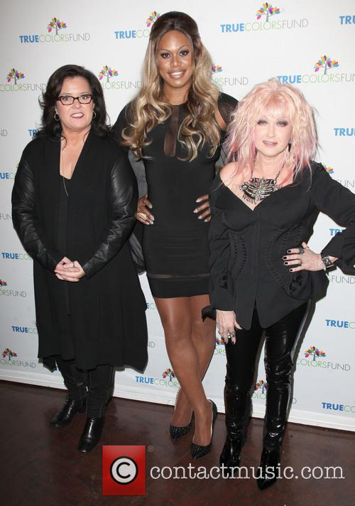 Rosie O'donnell, Laverne Cox and Cyndi Lauper 3