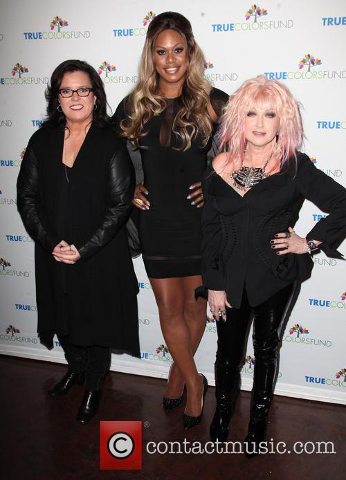 Rosie O'donnell, Laverne Cox and Cyndi Lauper 1