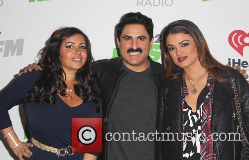 Mercedes Javid, Reza Farahan and Golnesa Gharachedaghi