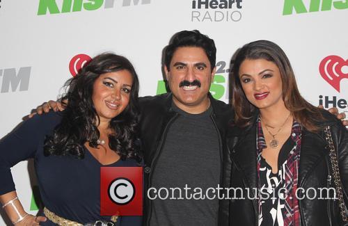 Mercedes Javid, Reza Farahan and Golnesa Gharachedaghi 8