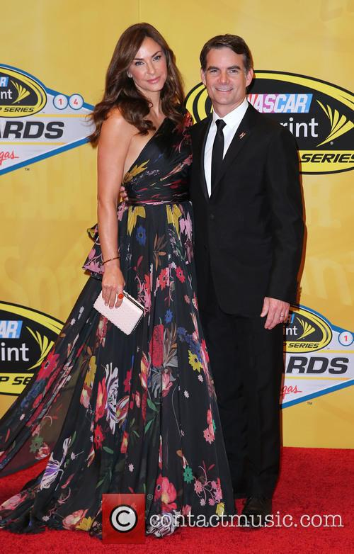 Jeff Gordon and Ingrid Vandebosch 2