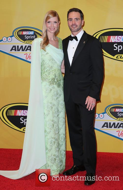 2014 NASCAR Sprint Cup Series Awards Arrivals
