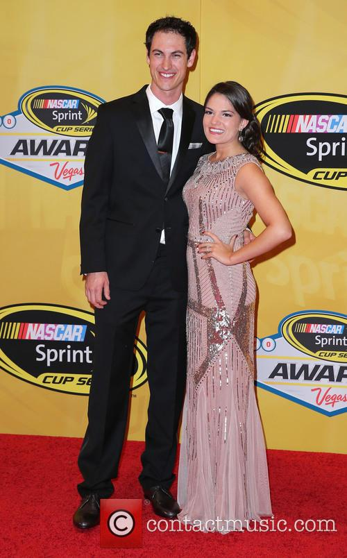 Joey Logano and Brittany Baca 2