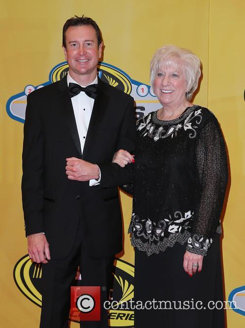 Kurt Busch and Mom 2
