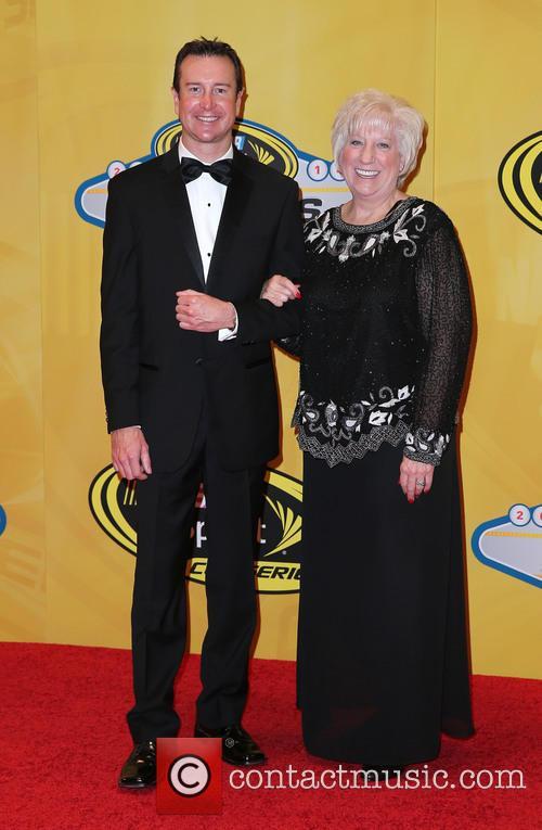 Kurt Busch and Mom 1
