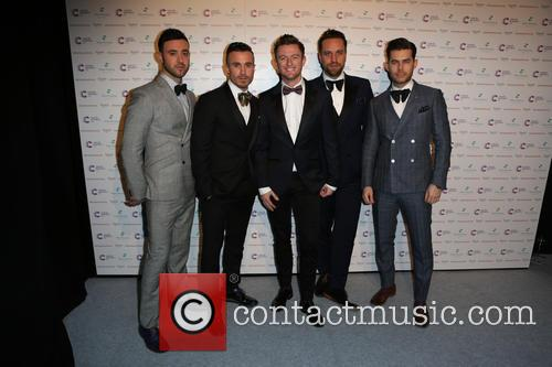 The Overtones at the 2014 Emeralds and Ivy Ball