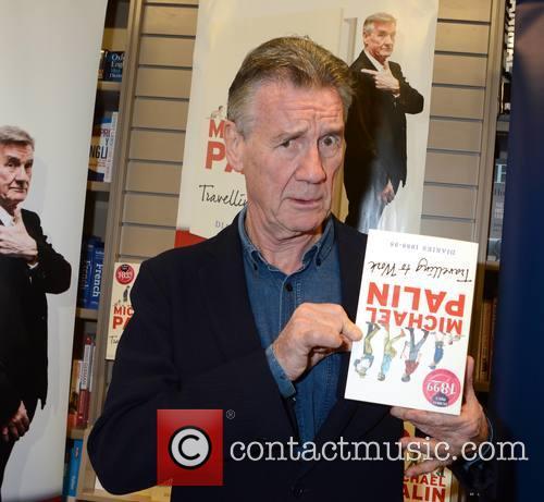 Michael Palin book signing