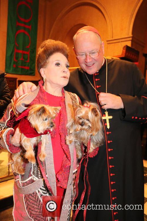 Cindy Adams and Cardinal Dolan 1