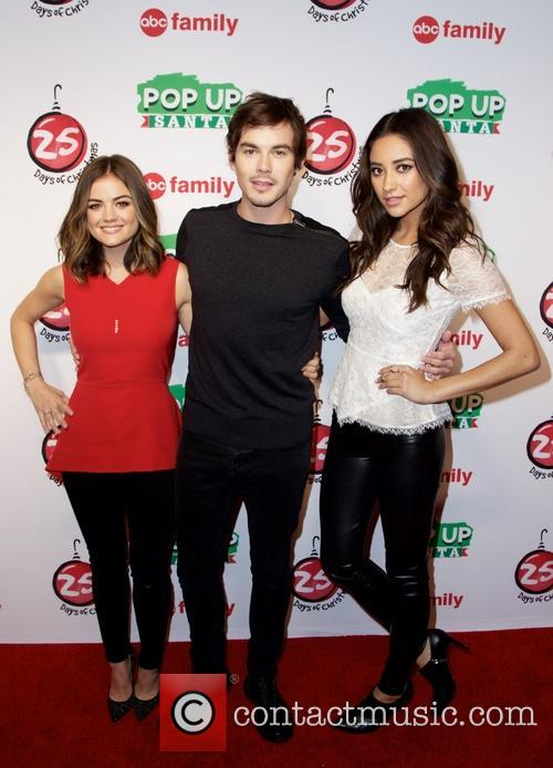 Lucy Hale, Shay Mitchell and Tyler Blackburn 3