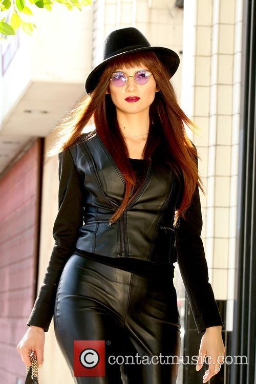 Blanca Blanco photo shoot