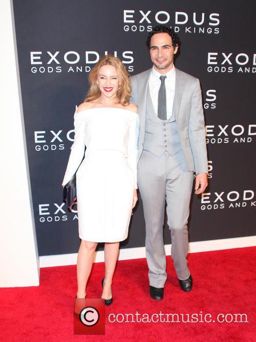 Kylie Minogue and Zac Posen 2