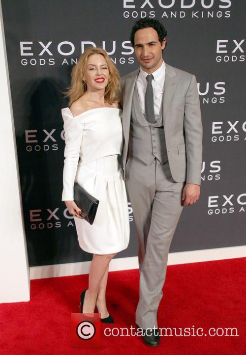Kylie Minogue and Zac Posen 3