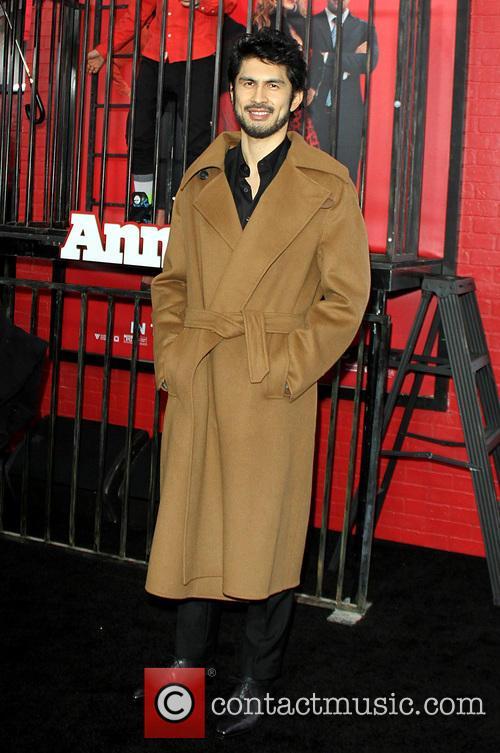 ken Hirai - New York Premiere of 'Annie' | 4 Pictures