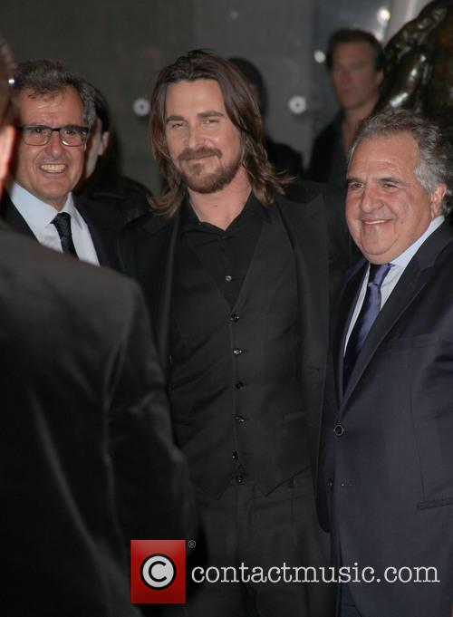 Peter Chernin, Christian Bale and Jim Gianopulos 5