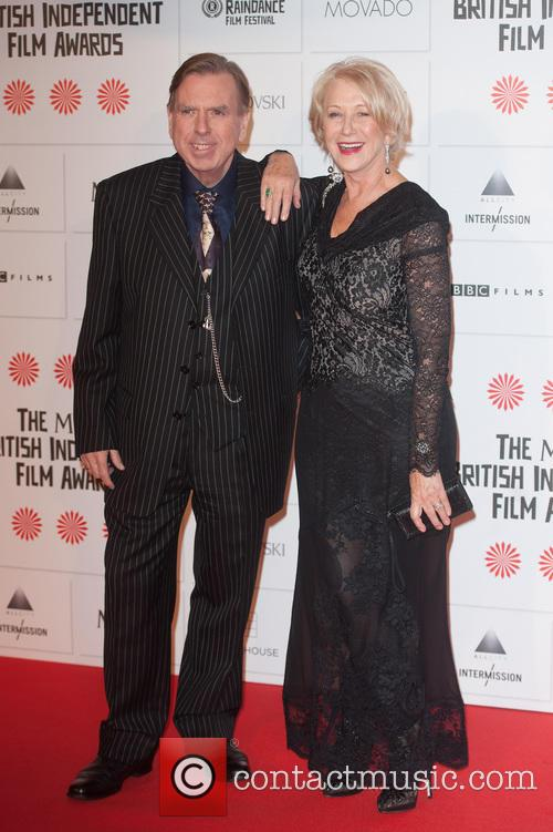 Timothy Spall and Helen Mirren 2
