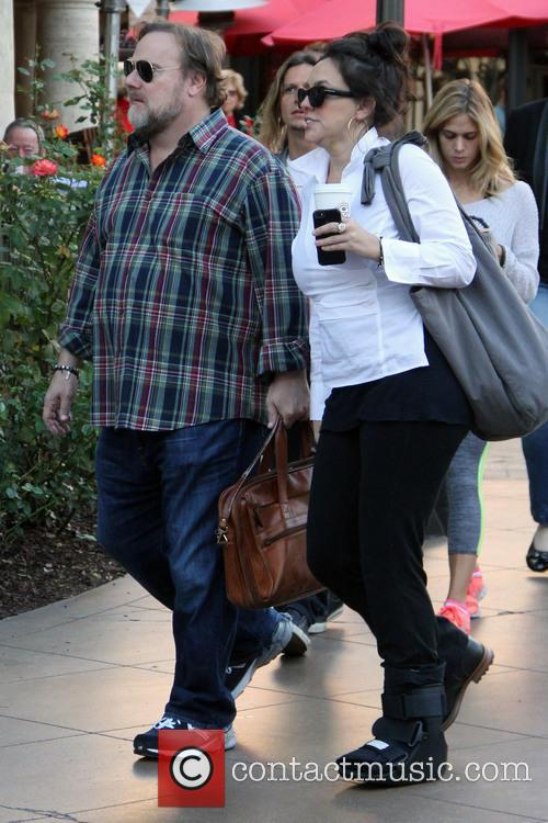 Kevin Farley goes Christmas shopping at The Grove