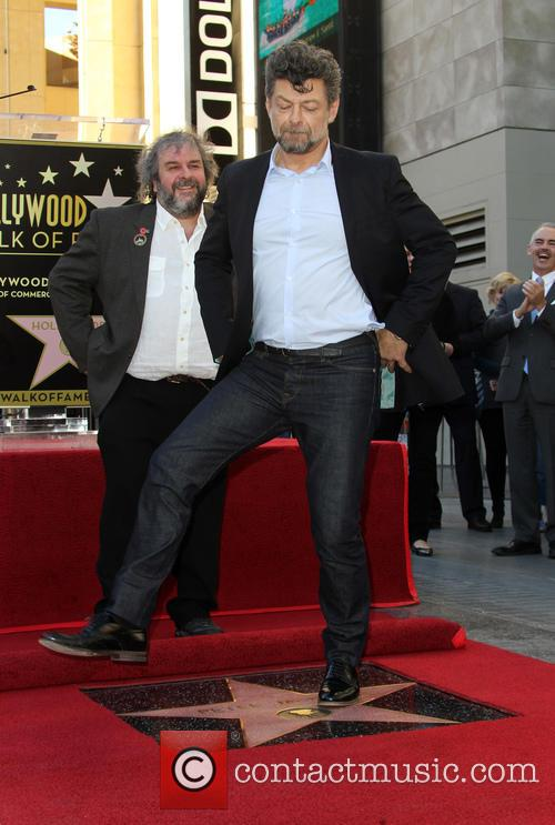 Andy Serkis and Peter Jackson 5
